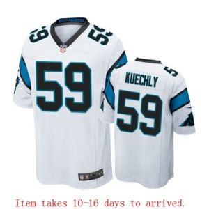 Mens Carolina Panthers #59 Luke Kuechly Jersey